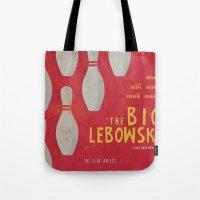 The Big Lebowski - Movie Poster Tote Bag