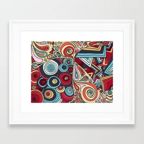 Summa' Time Framed Art Print