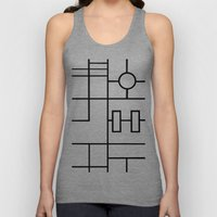 PS Grid Unisex Tank Top