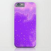 Purple Nebula (8bit) iPhone 6 Slim Case