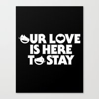 Our Love Canvas Print
