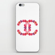 channel of roses iPhone & iPod Skin