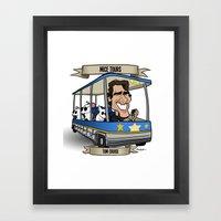 Mice Tours (Tom Cruise) Framed Art Print