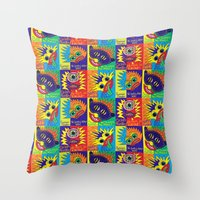 Cyclops Monster :-) Throw Pillow