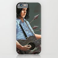 iPhone & iPod Case featuring blue blood blues by Brian DeYoung Illustration