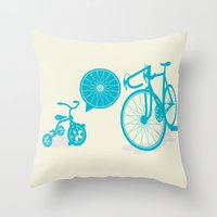 SPOKE Throw Pillow