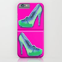 Green In Pink  iPhone 6 Slim Case
