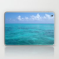 Caribbean Blues Laptop & iPad Skin