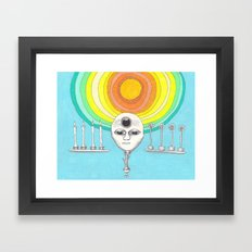 canyourthird eye seeme Framed Art Print