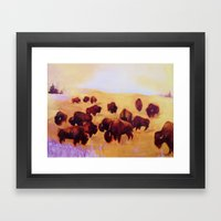 The Herd Framed Art Print
