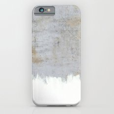 Painting on Raw Concrete iPhone 6s Slim Case