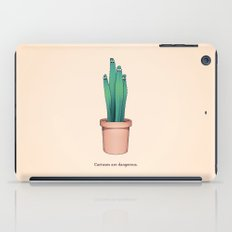 Cactuses Are Dangerous iPad Case