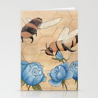 Big Bees Buzzing About B… Stationery Cards