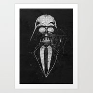 Darth Vader Gentleman Art Print
