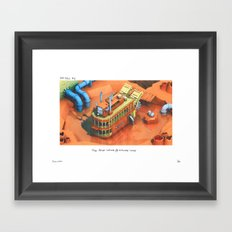 POP HELL #2 Framed Art Print