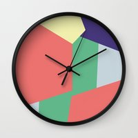 Mysterious Shapes Wall Clock