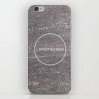 L'appât Du Rien iPhone & iPod Skin