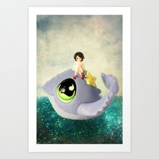 If I Could Have a Pet Art Print