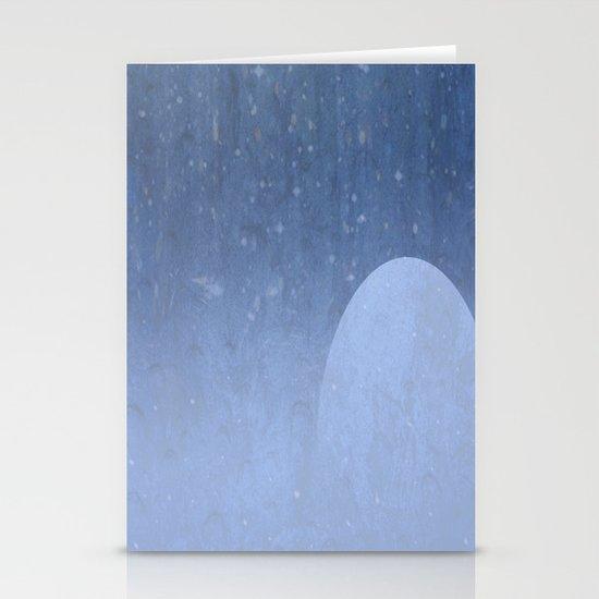Rain  Stationery Card