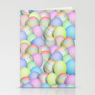 Pastel Colored Easter Eg… Stationery Cards