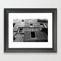 window 13 Framed Art Print