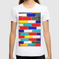 Vibrant Brick Womens Fitted Tee Ash Grey SMALL