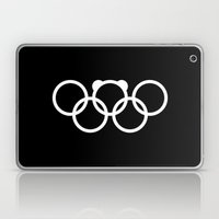 Olympic games logo 2014. Sochi. Bear. Laptop & iPad Skin