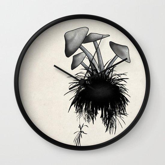 Mushrooms Wall Clock