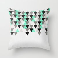 IceFall Throw Pillow