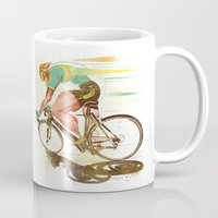 The Sprinter, Cycling Edition Mug