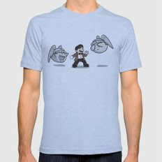 Weeping Boo's  Mens Fitted Tee Athletic Blue SMALL
