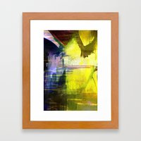 Melted In Framed Art Print