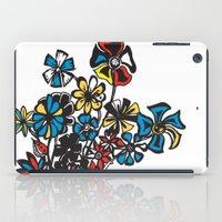 Bouquet - Skal iPad Case