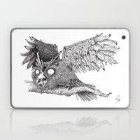 Woodland Owl Laptop & iPad Skin