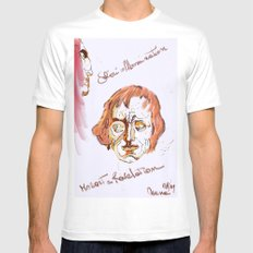 Mozart & Salieri White SMALL Mens Fitted Tee