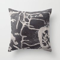 Untitled 001 Throw Pillow