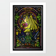 Art Print featuring Sage Of Time by Joshua A. Biron