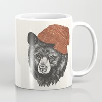 zissou the bear Mug