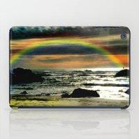 Pacific Rainbow iPad Case