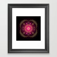 Circle Study No. 454 Framed Art Print