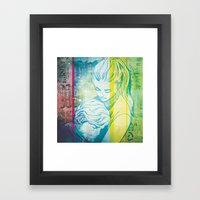 Comfort In Your Arms Framed Art Print