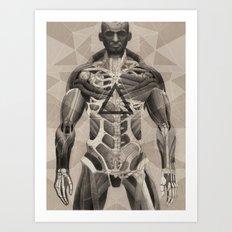 More Human Than Human Art Print