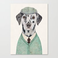 Dalmatian Mint Canvas Print