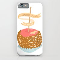 Caramel Apple om nom nom iPhone 6 Slim Case