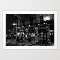 The International Bar, Dublin Art Print