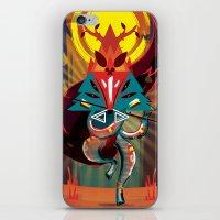 Bamboo Whistle iPhone & iPod Skin
