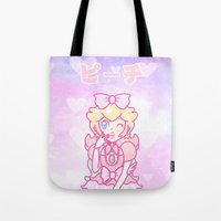 LOLI PEACH Tote Bag