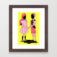 Scouts Framed Art Print