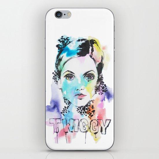 I heart Twiggy iPhone & iPod Skin