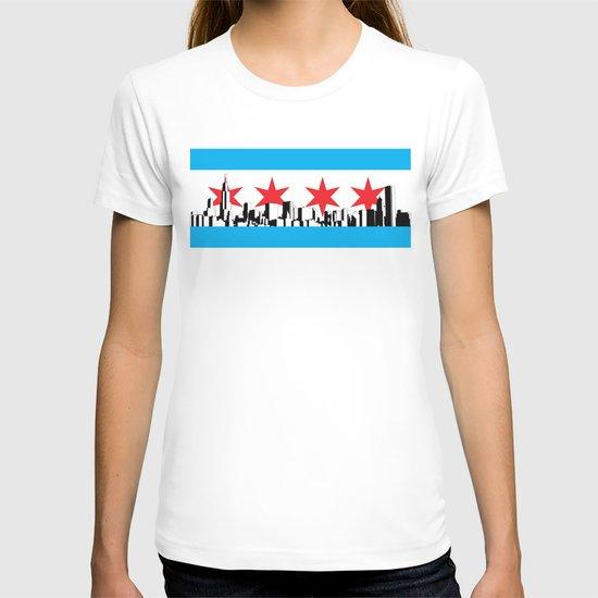 New Chicago Flag T-shirt